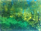Bosky acrylic on paper