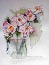 Bring the Garden In  Watercolour  £80 45x55cm