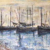 Cornish Luggers, by Susan Lonergan