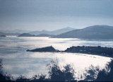 Dusk at Kokkari, Samos; Acrylic on Canvas board,  42X29cm, £90