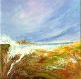 Dustanburgh  Acrylic 40 X 40 cm  £120