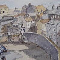 Staithes Village, by Derek Robinson
