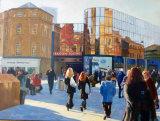 Eldon Square, Oil, 50 X 40 cm