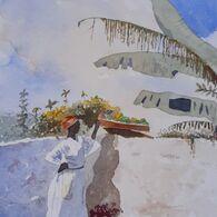 Rest, after Winslow Homer