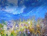 Fireflies  Acrylic on Block Canvas  50 X 40 cm  £140