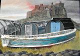 Holy Island, Oil/Canvas, 30 X 40 cm, £100