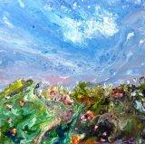 Wild Garden  Acrylic on Canvas 50 X 50 cm £140 SOLD