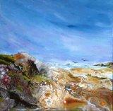Incoming Sea  Acrylic 40 X 40 cm £120