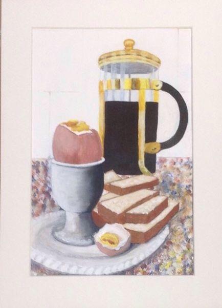 Karen Charlton, breakfast