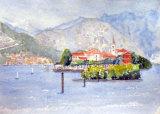 Lake Maggiore, Watercolour/Ink  25 X 17 cm  £120