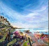 Lindisfarne Acrylic 40 X 40 cm £120