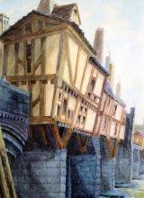 The Great Bridge of Tyne circa 1770