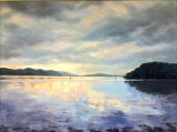 Inverewe Bay, Scotland; oils, Sold