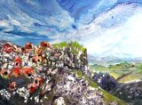 Northumbrian Hills  Acrylic 60 X 50 cm £160