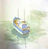 Fishing Boat  Watercolour