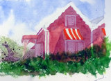 Hall, Watercolour