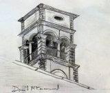 Church Detail, pencil