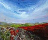 Poppy Fields  Acrylic on Canvas  60 X 50 cm £160