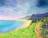 Rossili Beach, South Wales  Oil on Block Canvas  £200