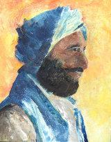 Sufi, Acrylic on MDF