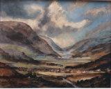 The Lakes, Oils, 50 X 40 cm, £120