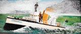 Turbine-Test Run, Acrylic/Canvas, 20 X 50 cm, £100