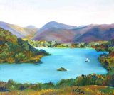 Ullswater  Watercolour  35 X 25cm