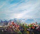 Where Land Meets Sea Acrylic on Canvas 60 X 50 £160