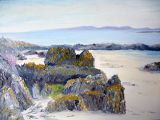 "Colonsay, oils on board, 16x12"", £180"