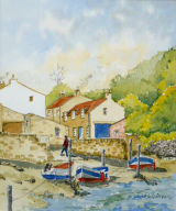 Creek at Staithes, 21x25cm, watercolour, £45