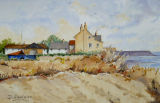 Boulmer, 33x21.5cm, watercolour, £45