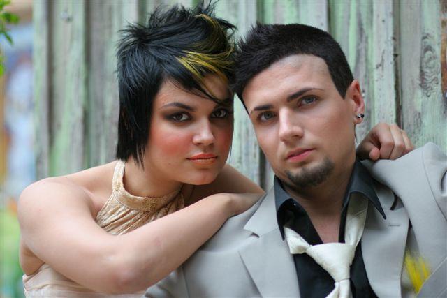 funky wedding makeup 6