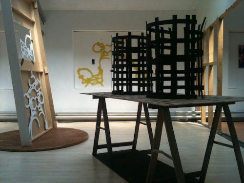 'Offcutter' installation