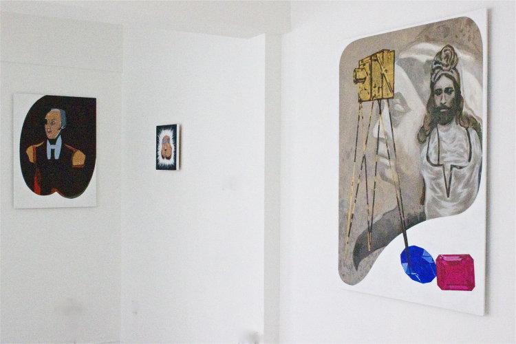 'Emerald Mutton' installation view,