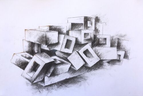 study for sculpture 2
