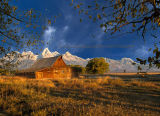 Mormon Barn Sunrise