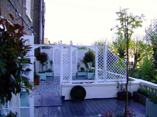 Client's roof garden