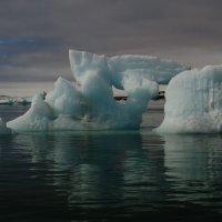Ice sculpture - Wahlenbergfjorden, Nordaustlandet