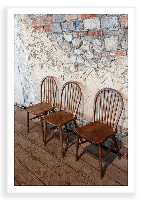 Chairs, Three