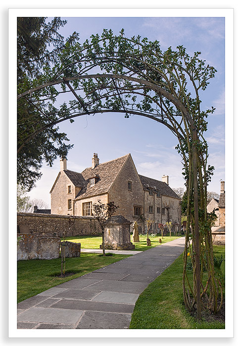 Bibury Churchyard 1