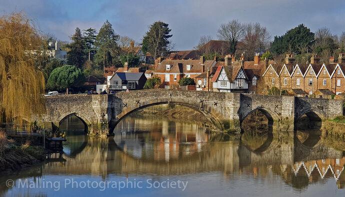 1 AYLESFORD BRIDGE by Hazel Turner
