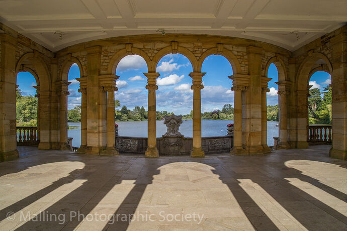 1 ITALIAN LOGGIA AT HEVER CASTLE by James Alexander