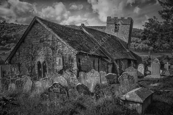 1 The Crooked Church of St Martins, South Wales