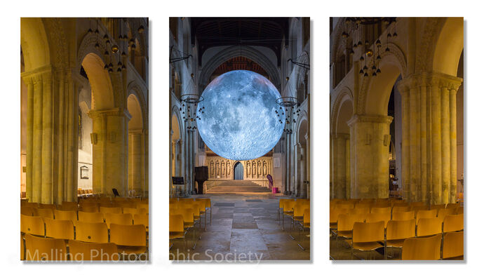 1 The Moon at Rochester by David Furness