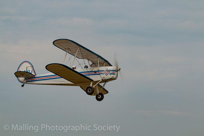 2 Biplane Takeoff by Rich Day