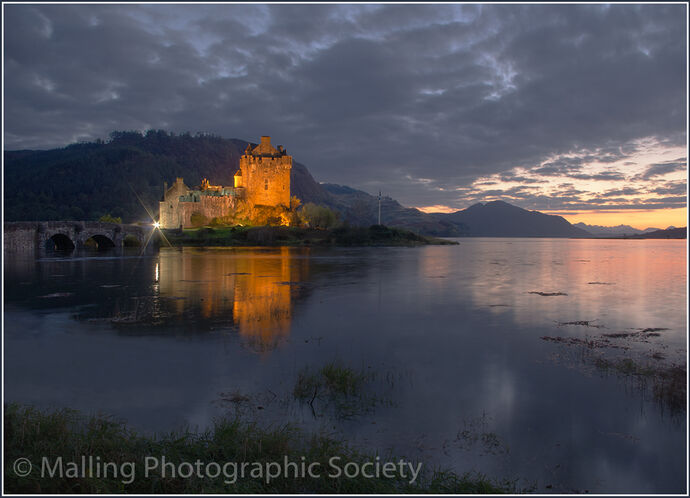 Eilean Donan Castle by Patricia Begley