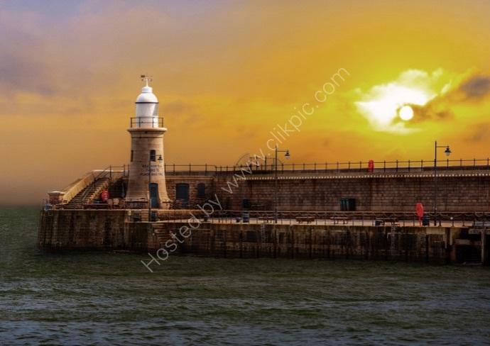 Folkestone Harbour Sunset