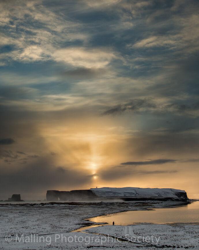 2 Icelandic Sunset by Paul Davison