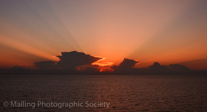 2 MEDITERRANEAN SUNSET by Jo Howard