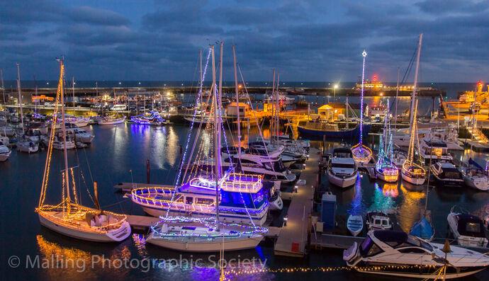 2 Ramsgate Harbour Illuminations by David Furness